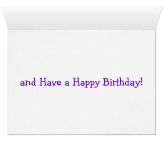Happy Birthday Clown Greeting Card