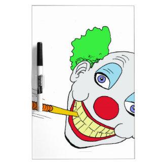 Happy Birthday Clown Dry Erase Whiteboards