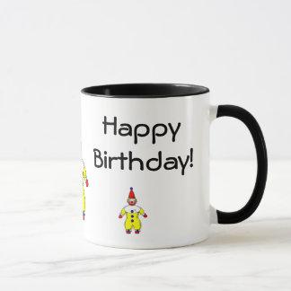 Happy Birthday Clown Mug