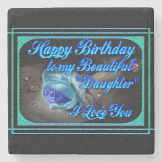 Happy Birthday Coaster Stone Coaster
