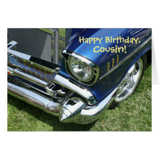 """Happy Birthday, Cousin"" Card"