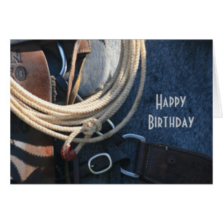 Happy Birthday Cowboy / Cowgirl CUSTOM Greeting Card