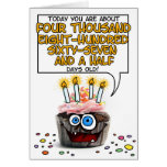 Happy Birthday Cupcake - 13 years old Greeting Cards