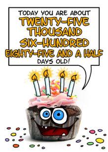 Funny 70th Birthday Cards
