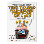 Happy Birthday Cupcake - 9 years old Card