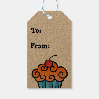 happy birthday cupcake tags