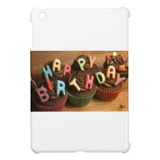 Happy Birthday Cupcakes iPad Mini Cover