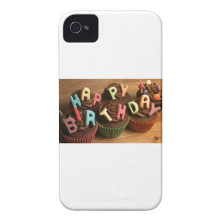 Happy Birthday Cupcakes iPhone 4 Cases
