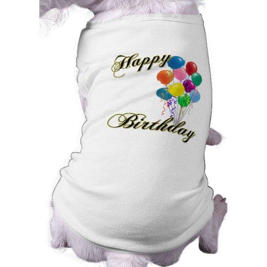 Happy Birthday - Customise Shirt