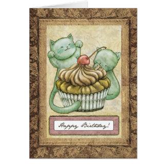 Happy Birthday! - Cute kittens Card