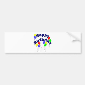 Happy Birthday - D2 Bumper Sticker