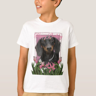 Happy Birthday - Dachshund - Winston T-Shirt