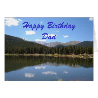 Happy Birthday Dad Greeting Card