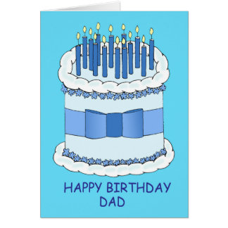 Happy Birthday Dad. Greeting Card