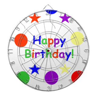Happy Birthday! Dartboard