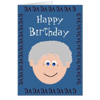 Happy Birthday (daughter) Greeting Card