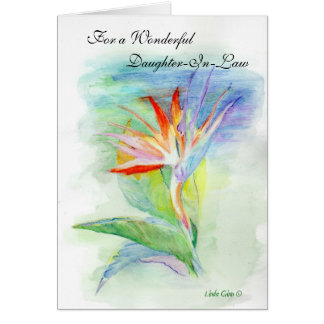 Happy Birthday Daughter-in-Law Greeting Card