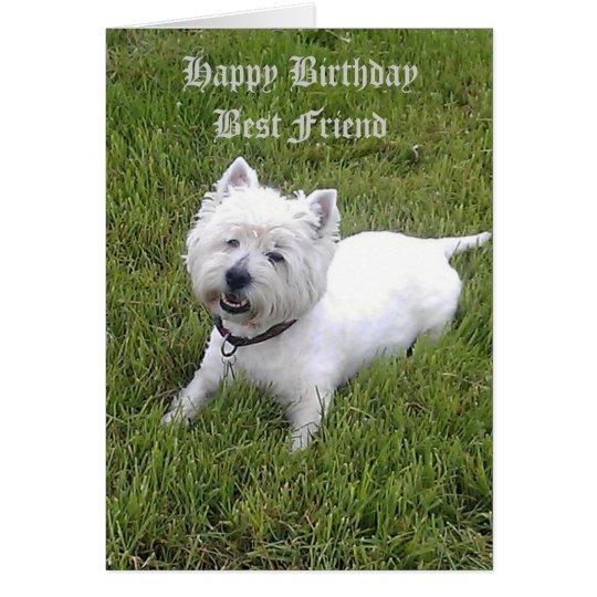 Happy Birthday Dear Friend Card