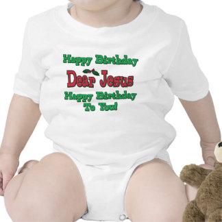 Happy Birthday Dear Jesus Christmas Tshirts