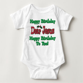 Happy Birthday Dear Jesus Christmas Tshirts