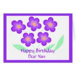 Happy Birthday Dear Nan Cards