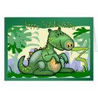 Happy Birthday Dinosaur Card 3rd Birthday