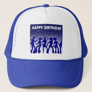 Happy Birthday Disco Dancers Trucker Hat