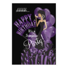 Happy Birthday Diva Girl | DIY Name | Purple Card