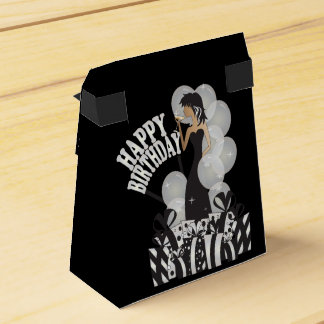 Happy Birthday Diva Girl | DIY Name | White Favour Box