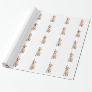 Happy Birthday Dog wrapping paper gift wrap