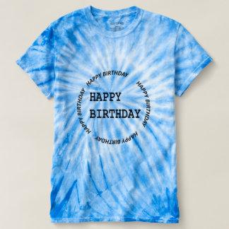 HAPPY BIRTHDAY EMBLEM   DIY replace PHOTO   TEXT T-shirts