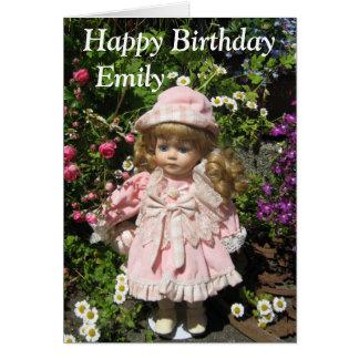 Happy birthday Emily Card