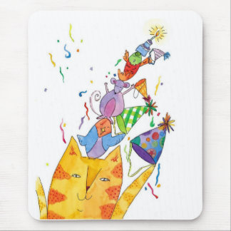 happy Birthday everyone Mouse Pad