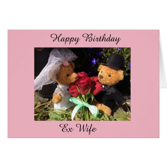 happy birthday ex wife card