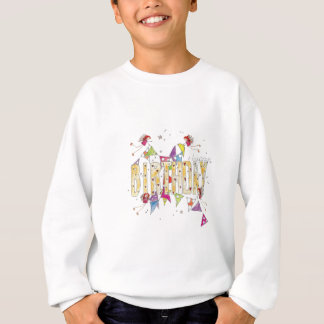 Happy Birthday - Fairies and Bunting Sweatshirt