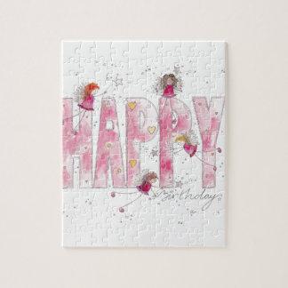 Happy Birthday Fairies Jigsaw Puzzle