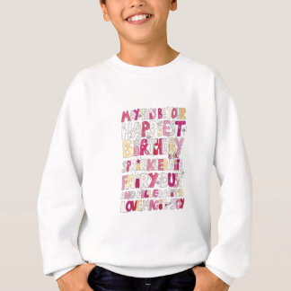 Happy Birthday Fairy Dust Sweatshirt