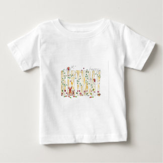 Happy Birthday -Fairy Woodland Baby T-Shirt