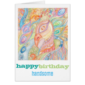 Happy Birthday fashion greeting card