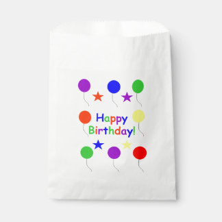 Happy Birthday! Favor Bag