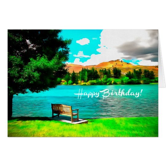Happy Birthday Fine Art Card