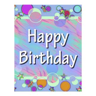 Happy Birthday Flyers