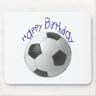Happy Birthday Football  Gifts Mouse Pad