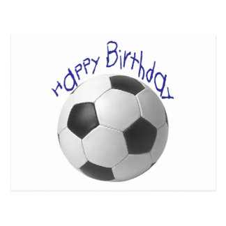 Happy Birthday Football  Gifts Postcard