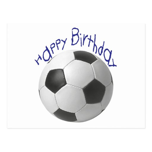 Happy Birthday Football  Gifts Postcards