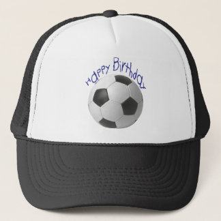 Happy Birthday Football  Gifts Trucker Hat