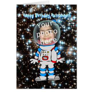 Happy Birthday for Astronaut Child Greeting Card