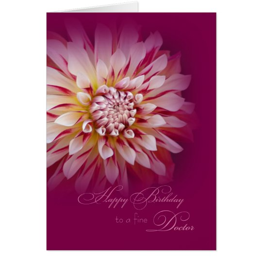 Happy Birthday for Female Doctor Card