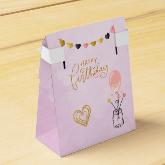 Happy Birthday for Her Favour Box