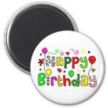 Happy Birthday Fridge Magnet